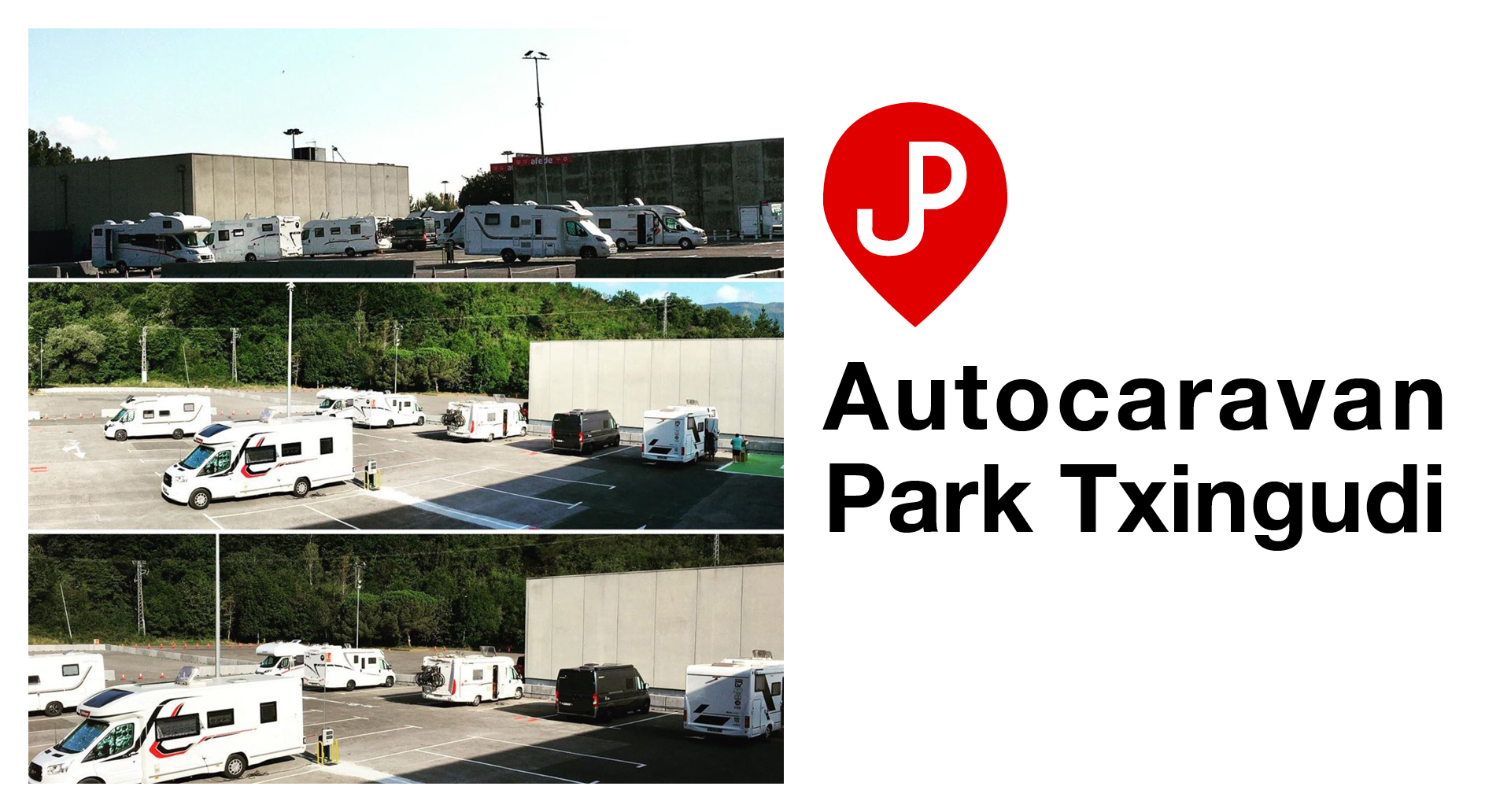 Abre el nuevo parking de caravanas en Parque Comercial Txingudi