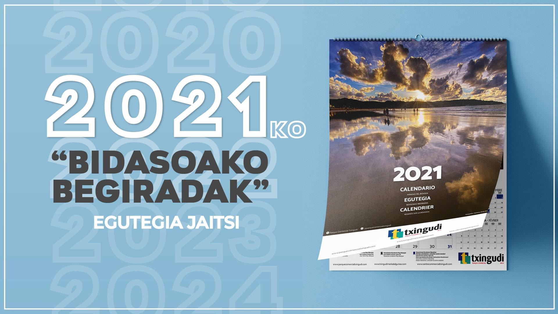 Dagoeneko eskuragarri dago Bidasoako Begiradak 2021 egutegia deskargatzeko!