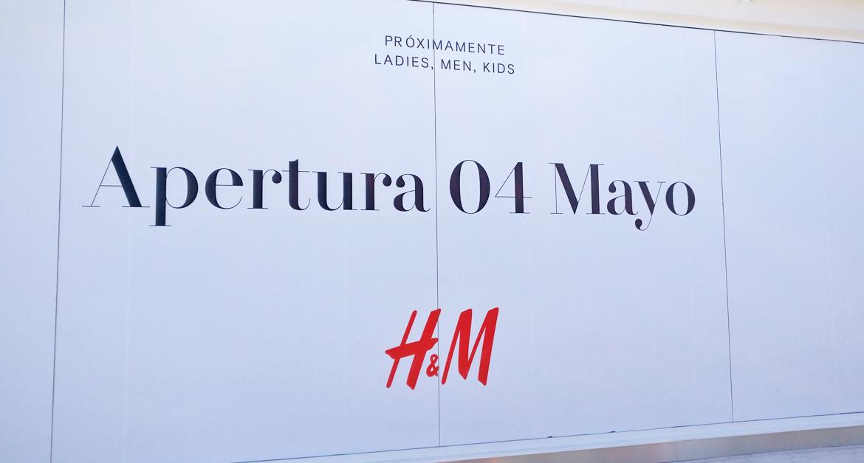 H&M-k denda berria irekiko du maiatzaren 4an