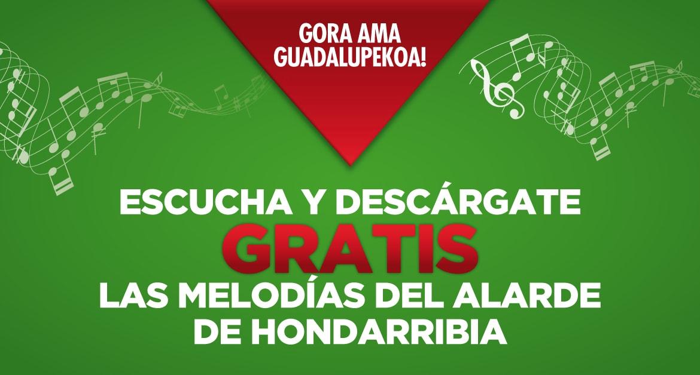 Escucha y descárgate GRATIS la música del Alarde de Hondarribia