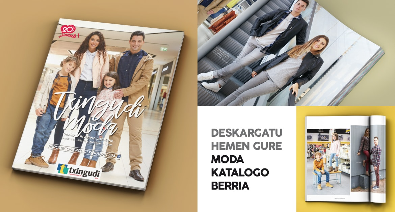 Jantzi moda-modan gure 2017/18 Udazken/Negurako katalogoarekin
