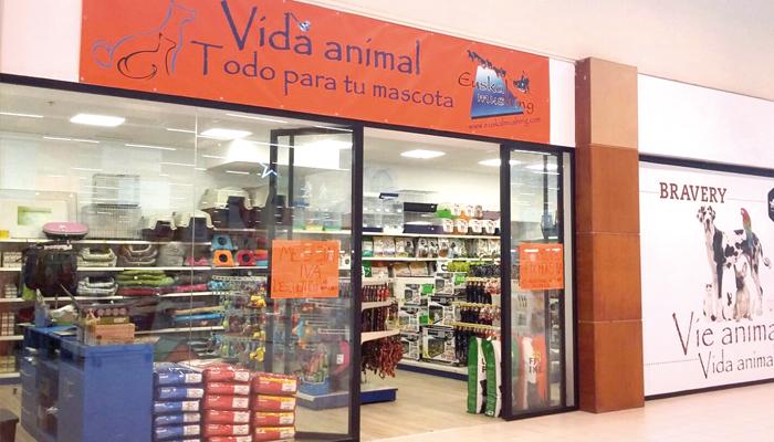 Euskal Mushing Vida Animal denda ireki da Txingudi Merkataritza Gunean