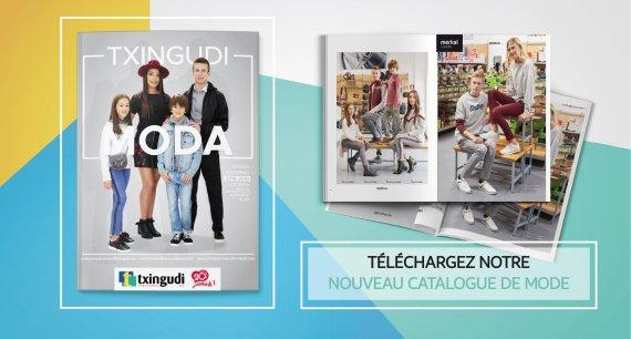 Vous pouvez consulter maintenant le catalogue de mode automne-hiver du centre commercial Txingudi !