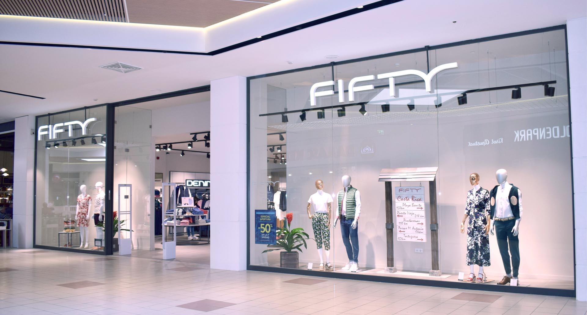Fifty abre su nueva tienda en el Parque Comercial Txingudi