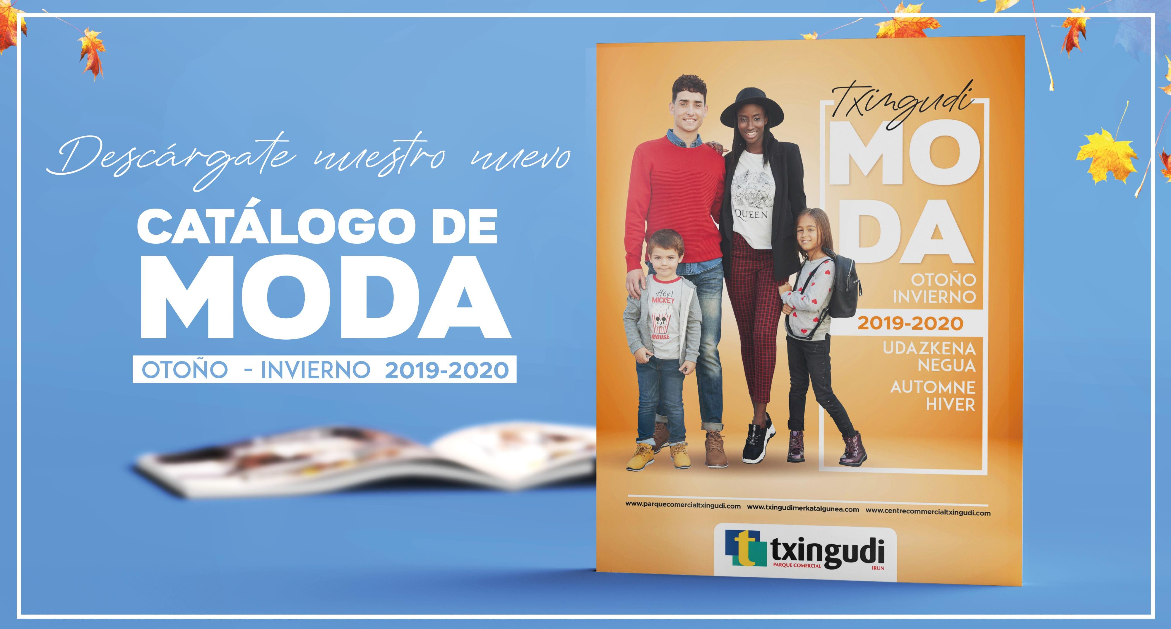 ¡Ya está disponible nuestro catálogo de moda Otoño - Invierno 2019/20!