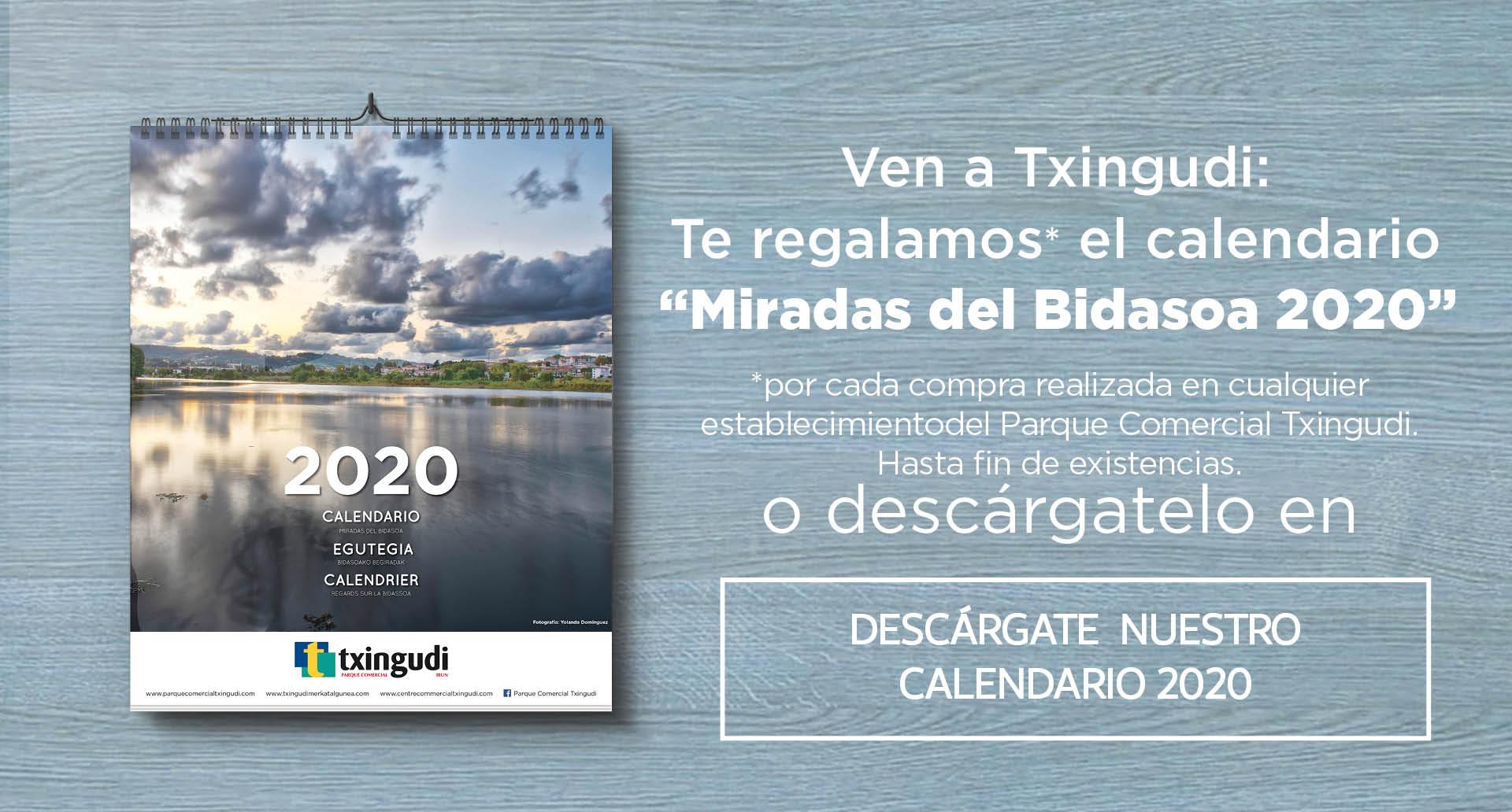 Descarga el calendario Miradas del Bidasoa 2020